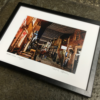 ASHTON LANE, GLASGOW Stuart Brown Photography signed framed print