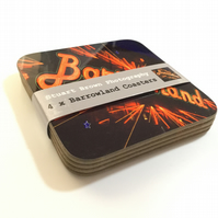 4 x BARROWLAND Coaster