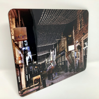 Ashton Lane, Glasgow high gloss placemat