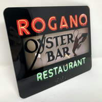 Rogano, Glasgow high gloss placemat