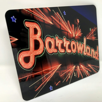 Barrowland, Glasgow high gloss placemat
