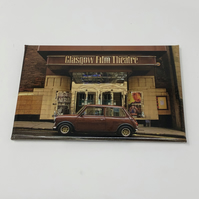 Mini at the GFT Glasgow Fridge Magnet