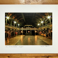 Old Fruitmarket, Glasgow Signed Mounted Print FREE DELIVERY