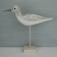 """Antiqued"" greenshank"