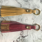 Beautiful leather Tassel keyrings