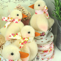 PDF - Shabby Chicks Felt Pattern - Easter Decorations