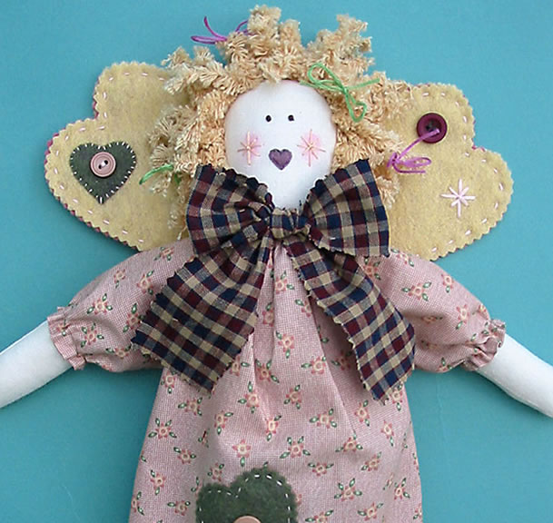 Angelina Angel Rag Doll Pattern