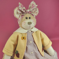 Maisy Rag Doll Bear Pattern