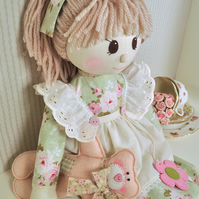 Holly Rag Doll Pattern