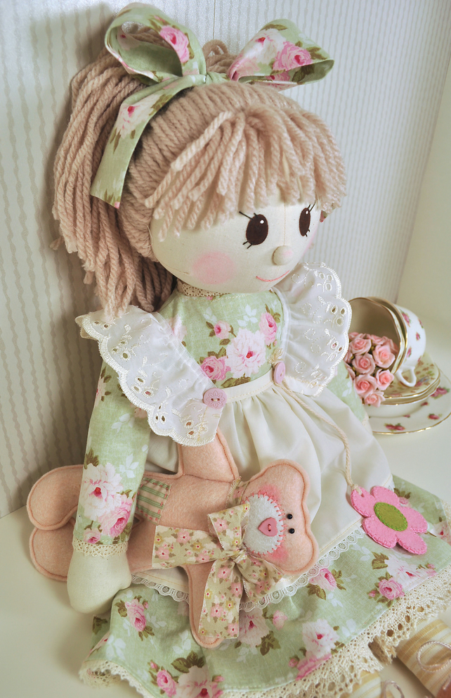 PDF - Holly Rag Doll Pattern