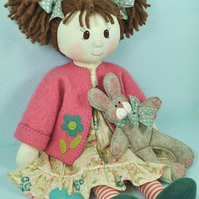 Millie & Rosie Rag Doll Pattern