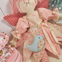 Magnolia Fairy Rag Doll Pattern