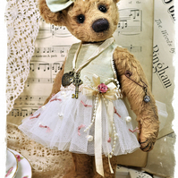 PDF - Margot Ballerina Artist Bear Pattern