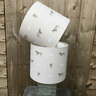 Border Terrier lampshade small