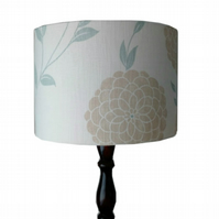 Lampshade 30cm Drum Floral French Country Cottage Spring Summer Home Decor