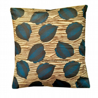 Dark leaf African pillow cover ASWAD Cushion