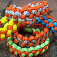 Zipper Sinnet Paracord bracelet