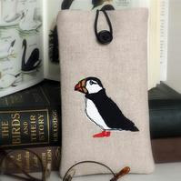 Glasses Spectacles Case Puffin Nature Wildlife Coastal Seaside Bird