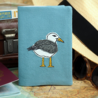 Passport Cover Wallet Seagull Nature Wildlife Bird Mothers Day Gift