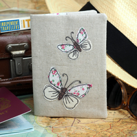 Passport Cover Wallet Butterfly Nature Wildlife Travel