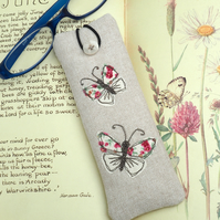Reading Glasses Case Butterfly Nature Wildlife