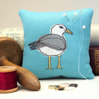 Pin Cushion Seagull Wildlife Nature Seaside Coastal Bird