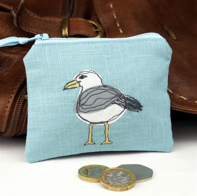 Purse Cosmetic Camera Accessory Seagull Nature Bird Seabird Coastal Mothers Day