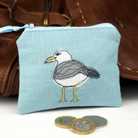 Purse Cosmetic Camera Accessory Seagull Nature Bird Seabird Coastal