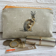 Hare purse, large coin purse