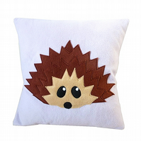 Lilac Hedgehog cushion