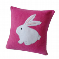 Pink Bunny rabbit cushion