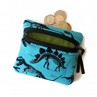 Dinosaur coin purse, change purse