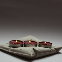 Tea light holder ( pillow design)