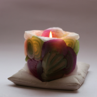Candle holder ( pillow design)