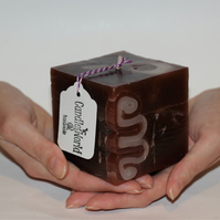 Handmade Square Candle.