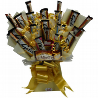 Galaxy Chocolate Bouquet by Kandy Station - Perfect Gift Hamper