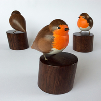 Our national bird, the Robin, turned from Walnut. Not just for Christmas!