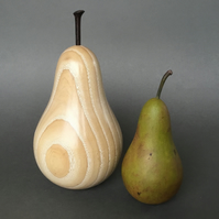 Pair of Wooden Pears