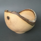 Natural Edged White Walnut Bowl