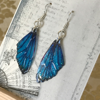 Magical Blue Sterling Silver Earrings