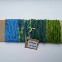 Lucet cord blue green ( 4 x 1m lengths)