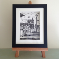 Framed Print of Whitby Abbey 199 Steps