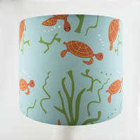 Large Ocean Turtle Lampshade