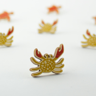 Baby Crab Pin Badge