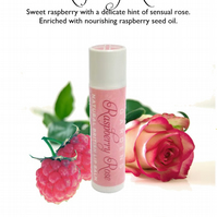 Raspberry Rose Beeswax Lip Balm