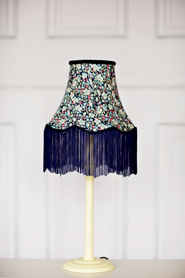 Hand stitched lampshade
