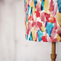 15cm Rainbow Lamp Shade Bright Cotton Fabric Lampshade