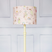 20 cm Pink owl lamp shade, lampshade, lamp shade, owl lampshade, owl lamp