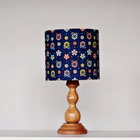 25cm blue floral lampshade, blue floral home decor