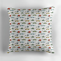 Cars Nursery Cushion Cover 16 inch